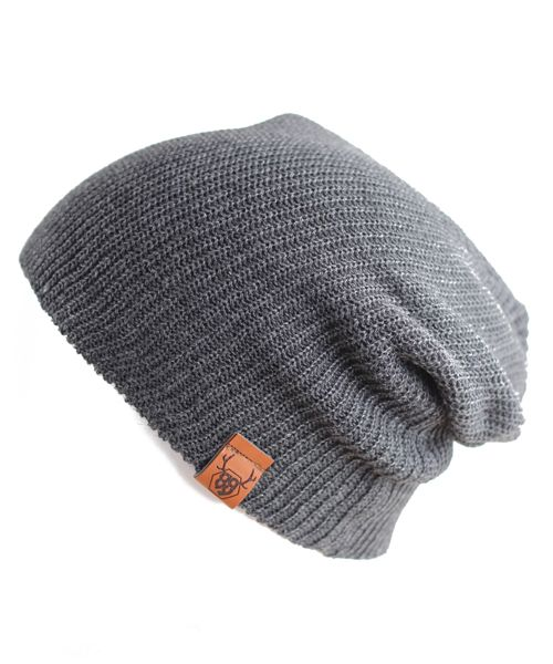 Oovy CHARCOAL KNIT BEANIE  | OOVY