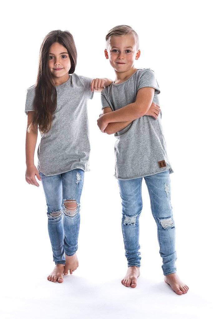 stoere jeans met gaten kids
