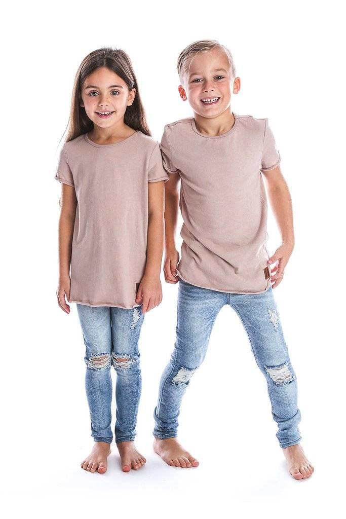 stoere t-shirts kids roze