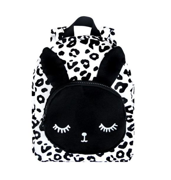VanPauline BACKPACK BUNNY WHITE LEOPARD