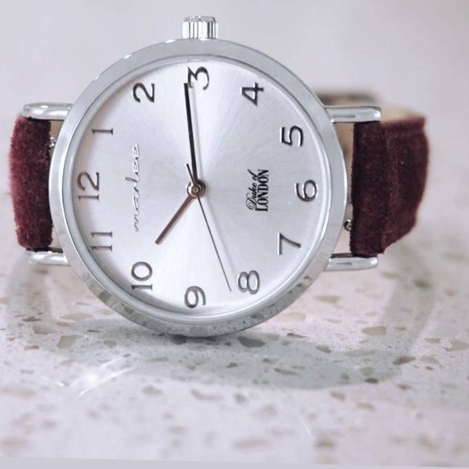Marlee Watch Children's watch - Duobox watch with two velvet straps | Marlee Watches