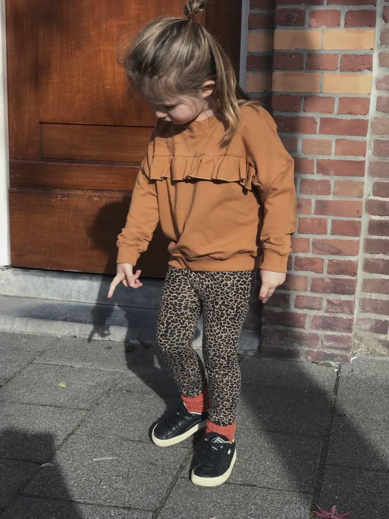 legging meisjes luipaardprint