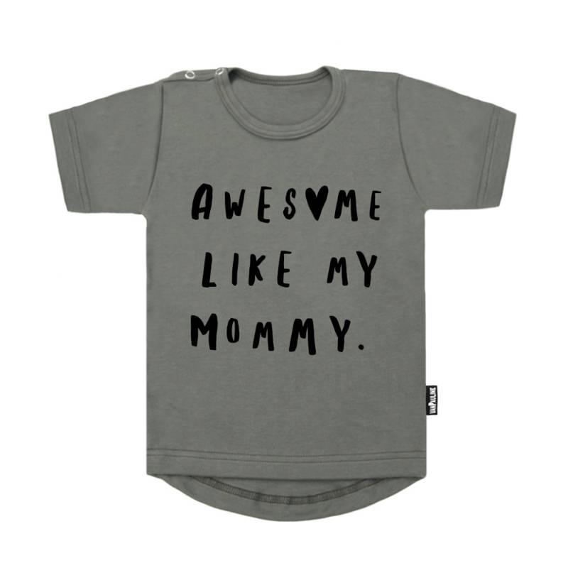 shirt baby met tekst