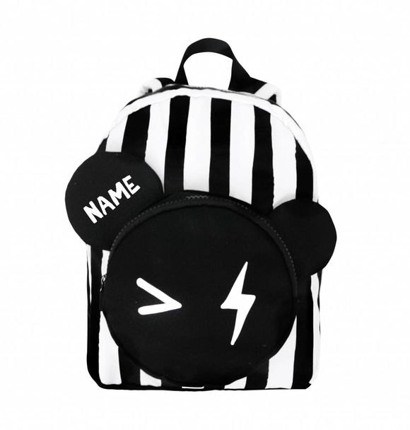 VanPauline BACKPACK BEAR STRIPE + NAME