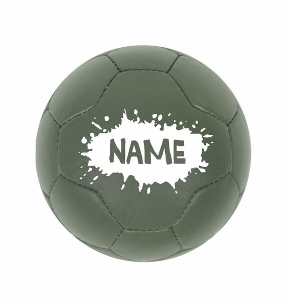 VanPauline BAL GREEN SPLATTER + NAME
