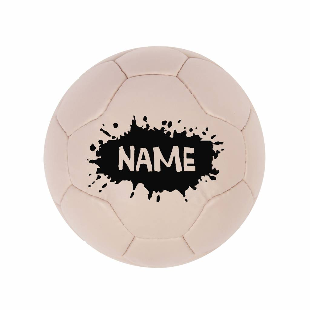 VanPauline PINK FOOTBALL SPLATTER PERSONALIZED | VANPAULINE
