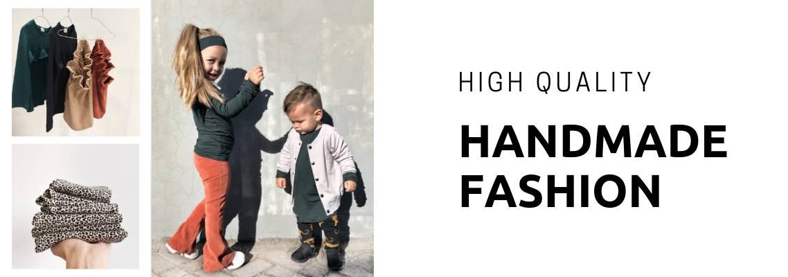 Hoge kwaliteit handgemaakte meisjeskleding en jongenskleding online