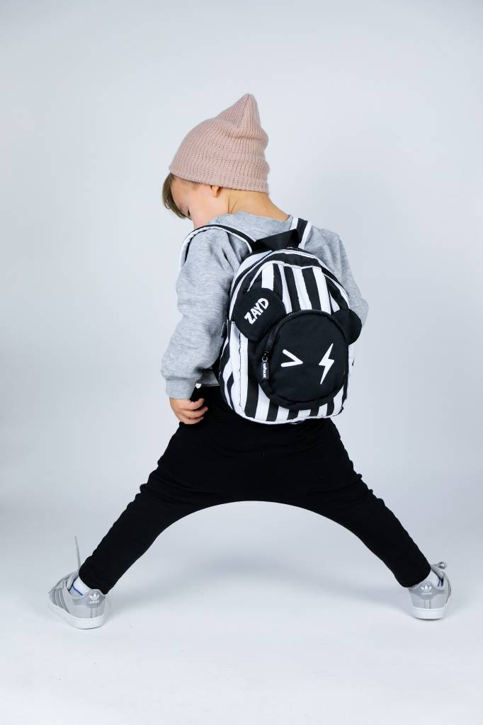 VanPauline STRIPED BEAR BACKPACK FOR CHILDREN   PERSONALIZED CHILDREN'S BAG  VANPAULINE
