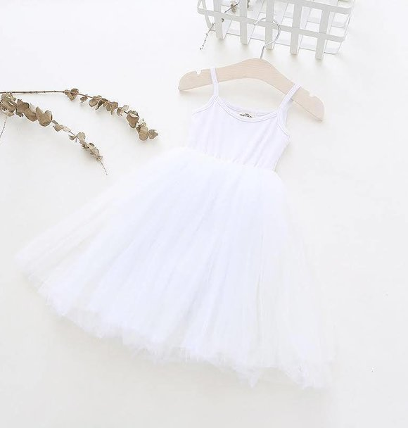 Ma Mer TUTU DRESS WHITE