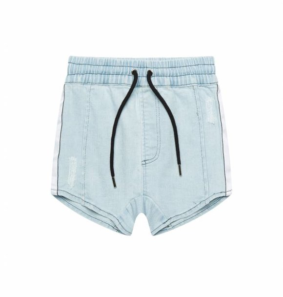 Adam + Yve GRAIL BLUE DENIM SHORTS