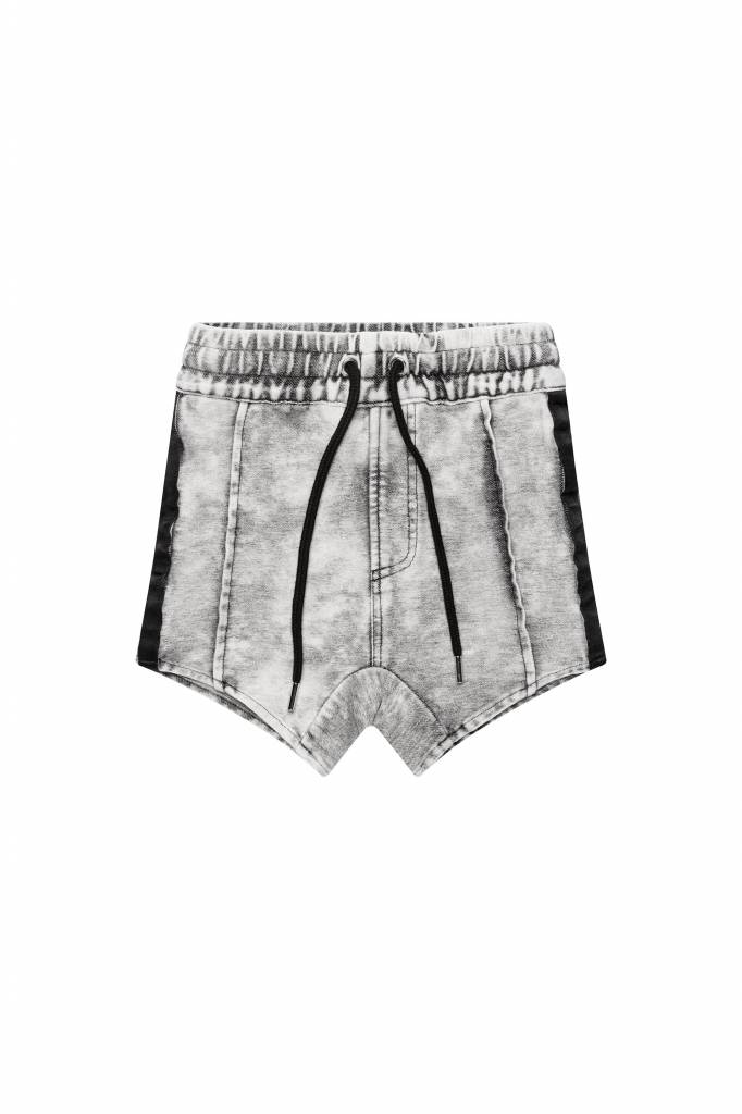 Adam + Yve GRIJZE DROP CROTCH SHORTS VOOR JONGENS | ADAM + YVE