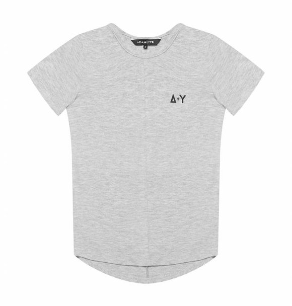 Adam + Yve GREY PANEL TEE