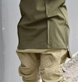 Young Blood Apparel OLIVE GREEN LONGER SHIRT WITH SEAMS ON FRONT PIECE | BOYWEAR