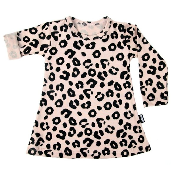VanPauline LEOPARD DRESS PINK