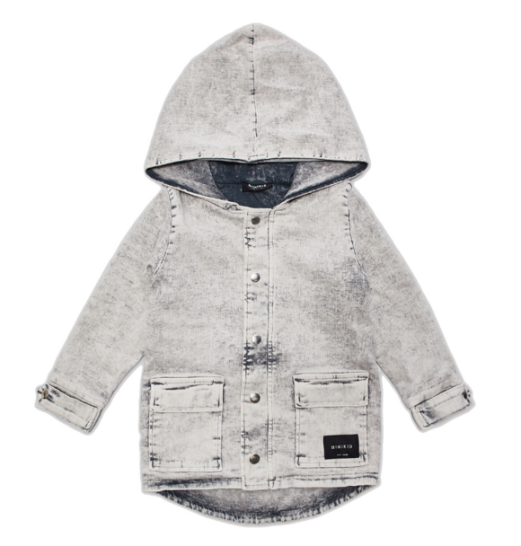 Minikid PARKA ACID GREY