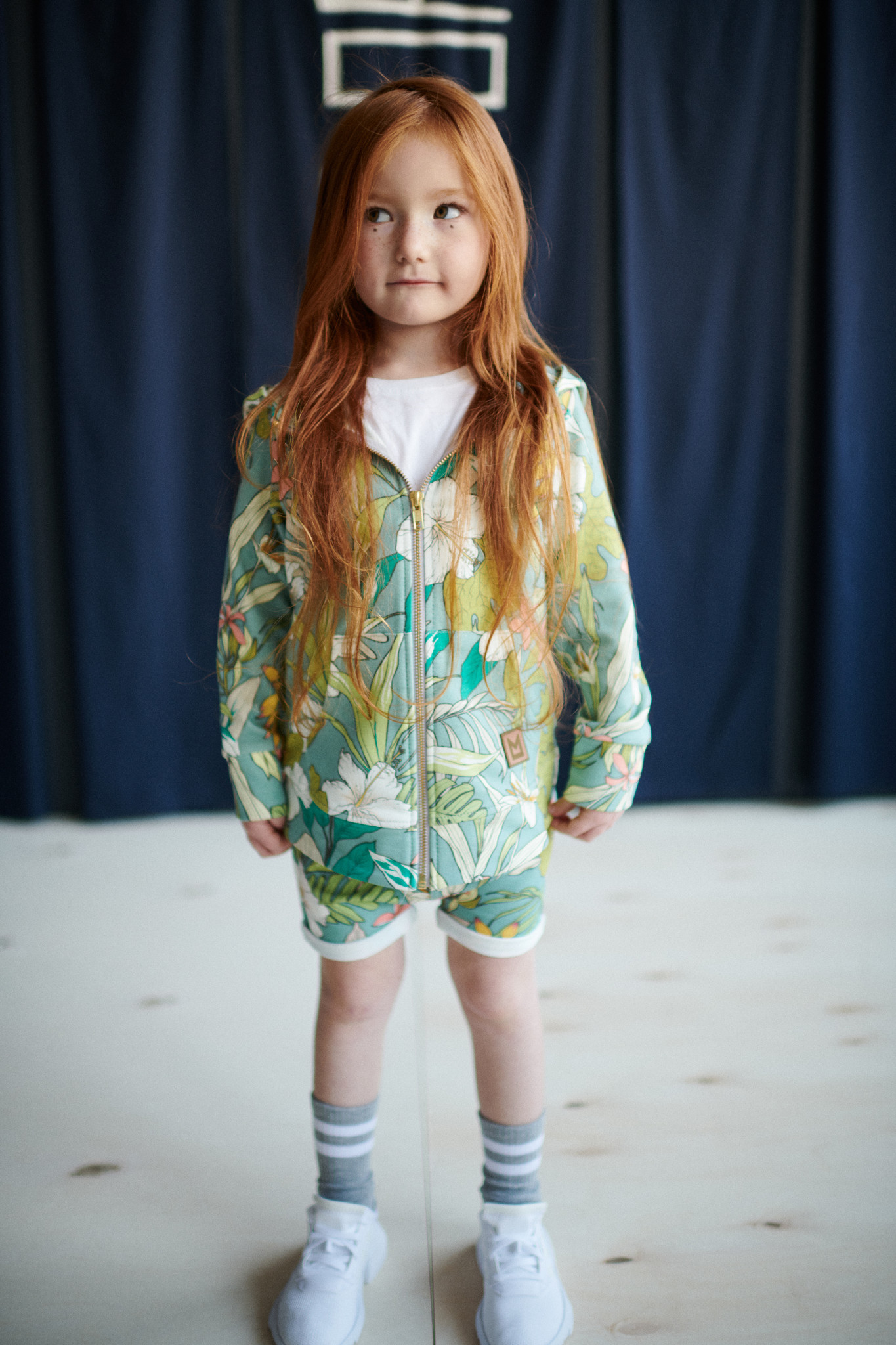 Minikid SHORTS WITH FLORAL PRINT | CHILDREN'S CLOTHING | MINIKID