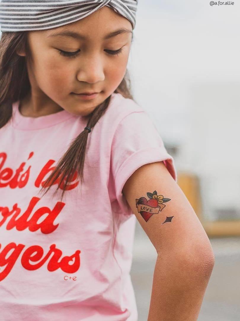 Ducky Street VINTAGE TATTOOS | CHILD TATTOO | TEMPORARY TATTOO