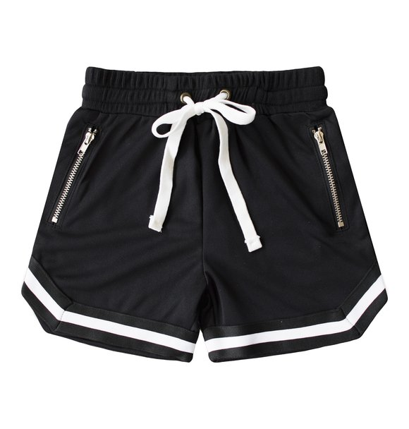 Beaubella Kids BALLER MESH SHORTS BLACK