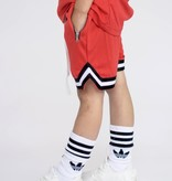 Beaubella Kids RODE BASEBALL SHORTS | ZWART COMFORTABELE KORTE BROEK | BEAUBELLAKIDS