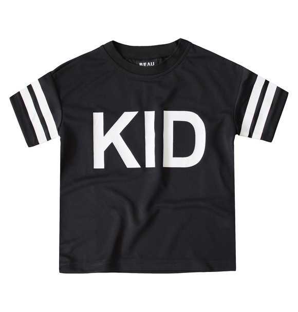 Beaubella Kids KID' MESH TEE BLACK