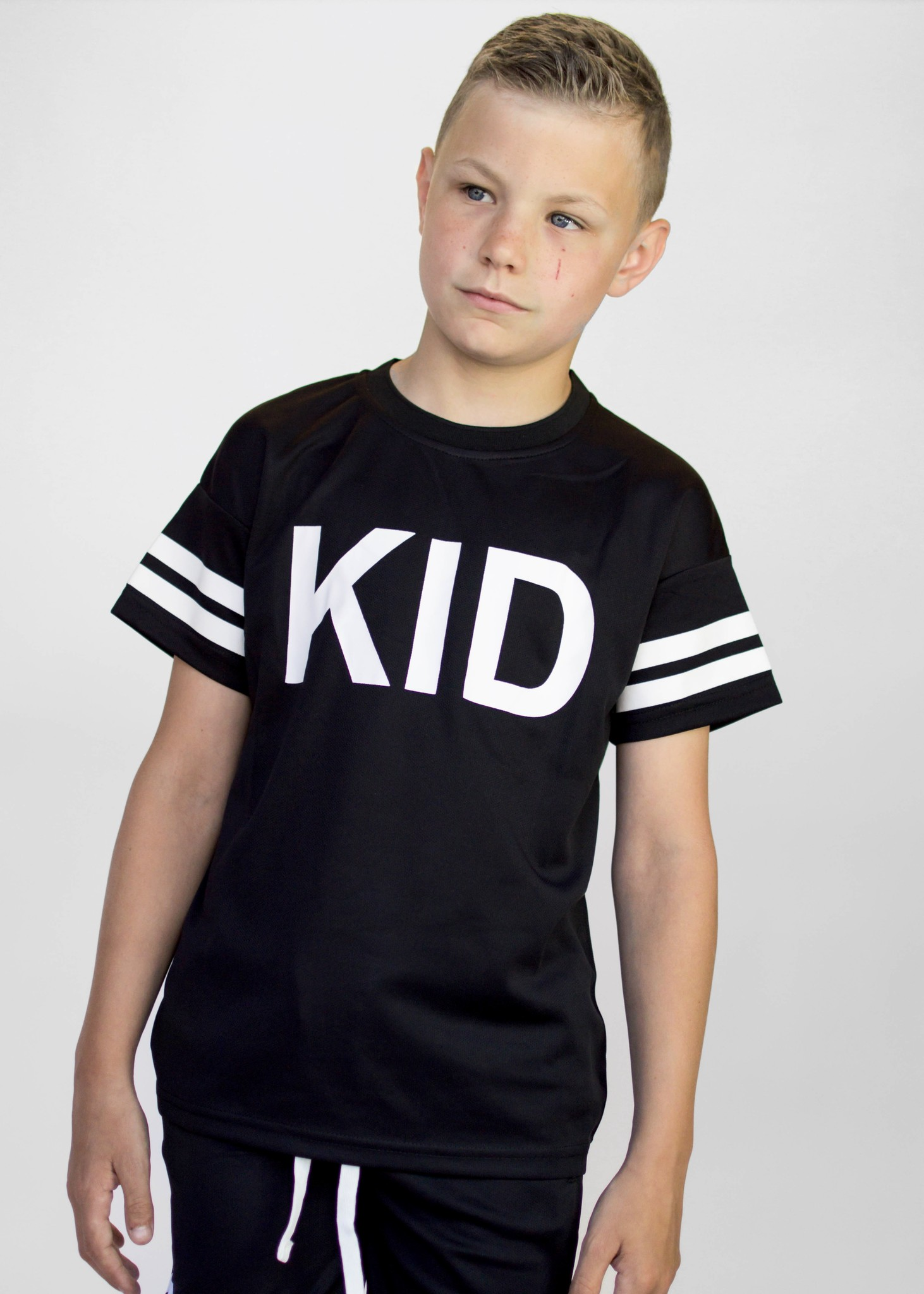Beaubella Kids BLACK BASEBALL SHIRT| BLACK COMFORTABLE SHIRT | BOYS CLOTHING