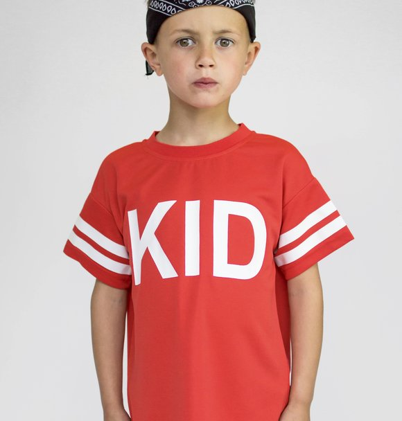 Beaubella Kids KID' MESH TEE RED