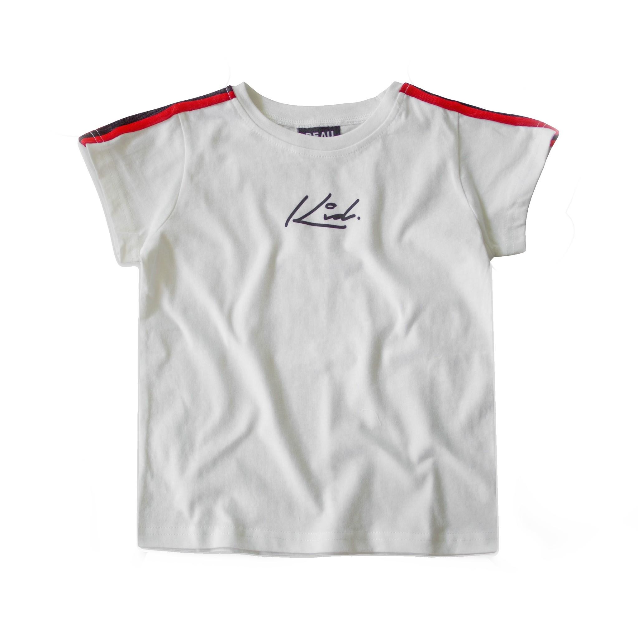 Beaubella Kids WHITE COOL SHIRT| WHITE SHIRT WITH PRINT | BOYS CLOTHING