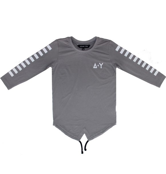Adam + Yve GREY LONG SLEEVE