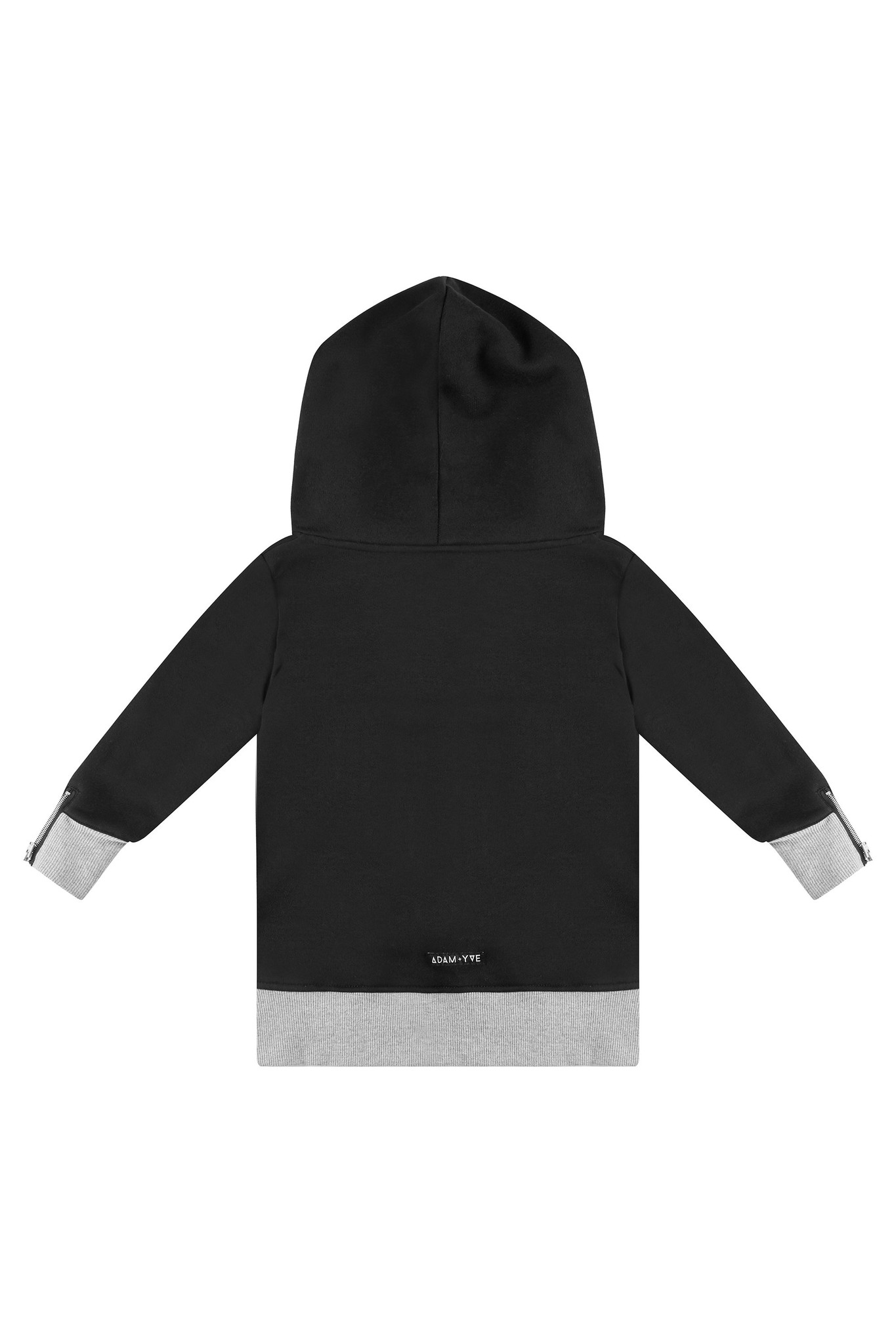 Adam + Yve BLACK HOODIE FOR BOYS | COOL LONG HOODIE | STREETWEAR BOYS CLOTHING