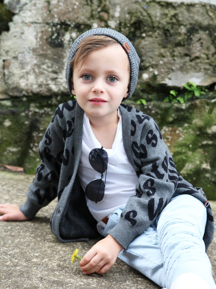 Oovy WHATEVS KNIT CARDIGAN | LONG KNIT CARDIGAN FOR KIDS | OOVY