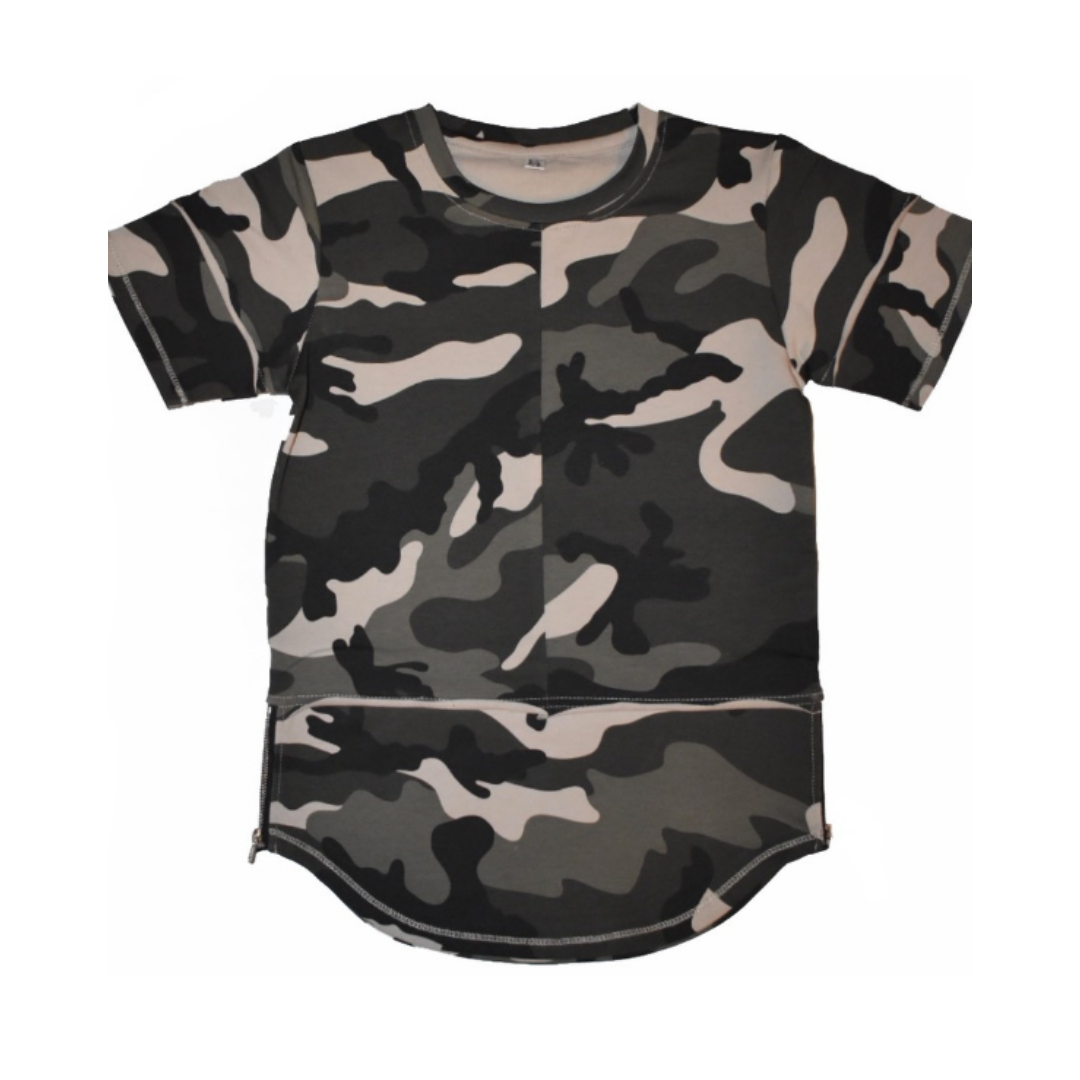 Young Blood Apparel CAMO SHIRT | CAMOUFLAGE TSHIRT | JONGENS KLEDING | STREETWEAR