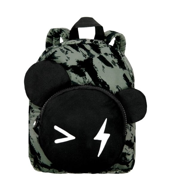 VanPauline BACKPACK BEAR GREEN DISTRESS