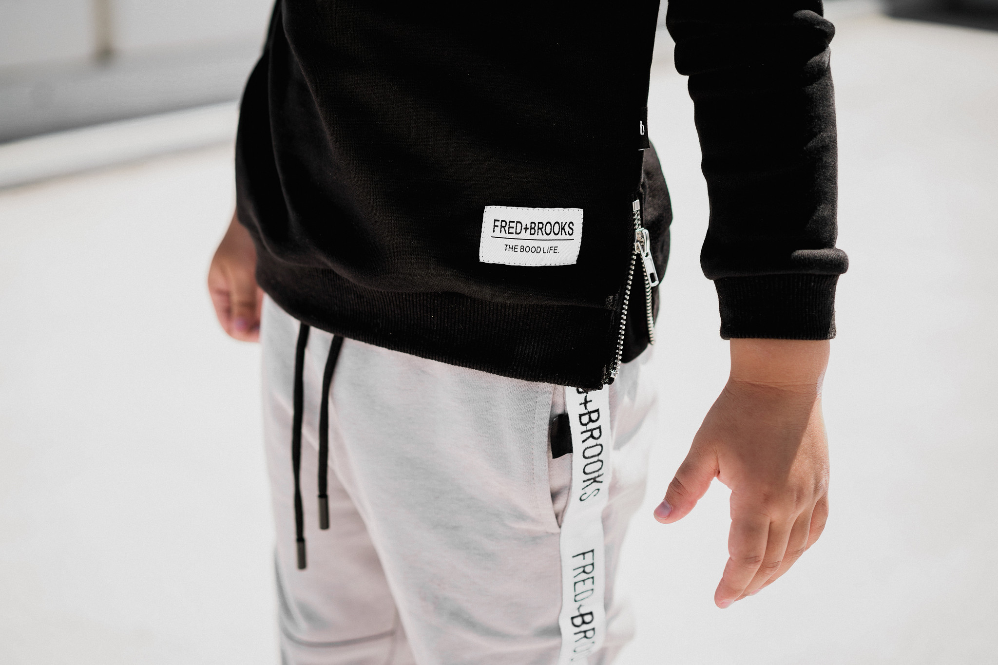 Fred and Brooks GRIJZE JOGGER | COMFORTABELE BROEK JONGENS | FRED AND BROOKS