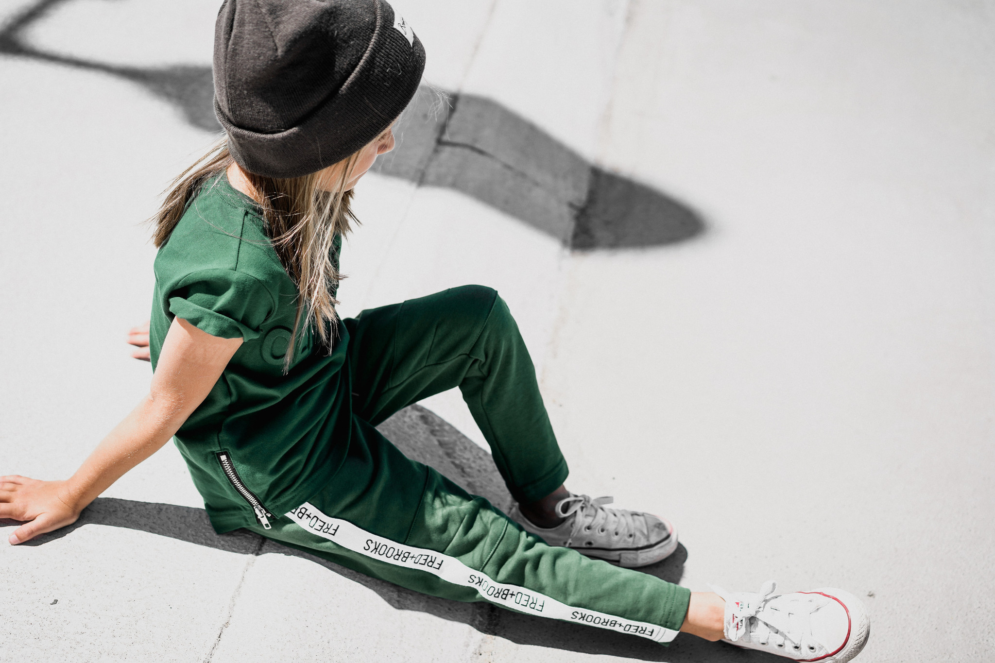 Fred and Brooks GREEN JOGGER | COMFORTABLE BOYSWEAR |FRED AND BROOKS