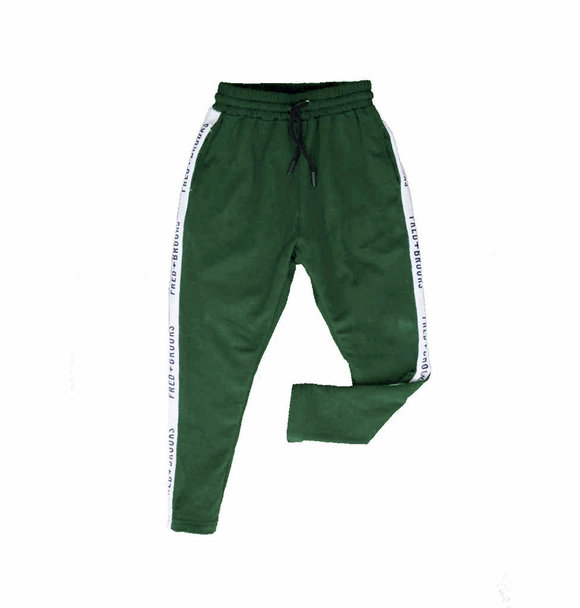 Fred and Brooks pre-order GREEN JUNIOR JOGGER