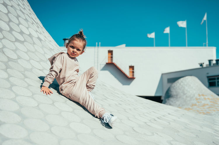 Kiddow BEIGE JOGGER | COMFORTABLE TROUSERS FOR CHILDREN | STREET STYLE
