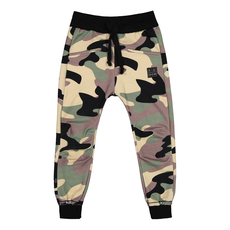 Kiddow COMFORTABLE JOGGER   CAMOUFLAGE PANTS FOR CHILDREN   STREET STYLE