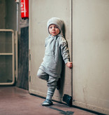 Kiddow COTTON HAT | COTTON RIBBED BEANIE GREY| STREETWEAR FOR CHILDREN