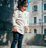 Kiddow BEIGE LONGSLEEVE |  COOL SHIRT FOR CHILDREN WITH LONG SLEEVES | STREETWEAR