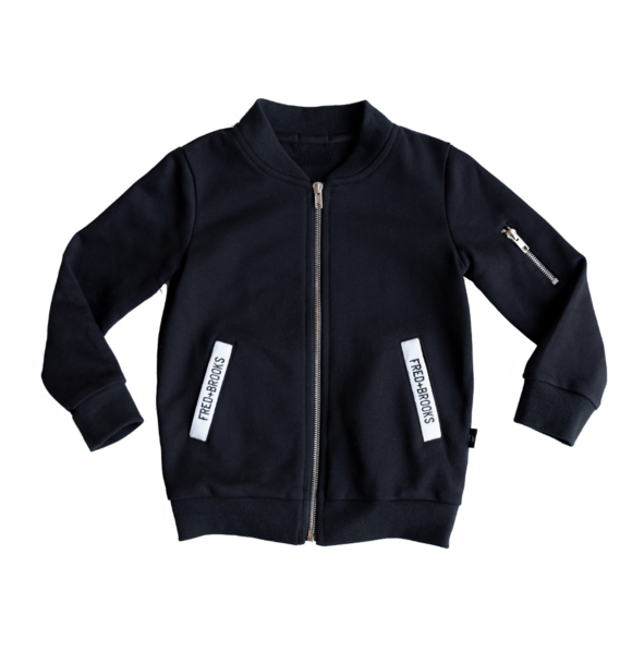 Fred and Brooks BLACK COTTON JACKET