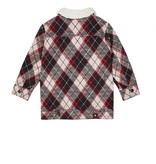 Minikid CHECKERED WARM COAT |  AUTUMN COAT FOR CHILDREN | MINIKID