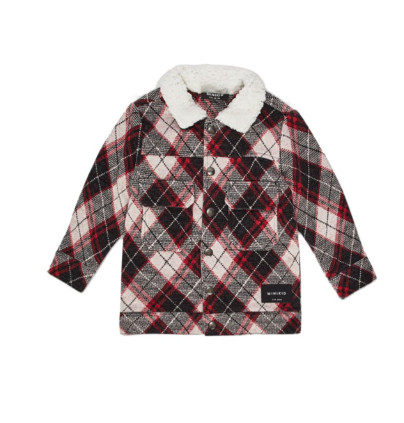 Minikid CHECKERED JACKET