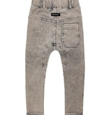Minikid GREY COMFORTABLE JEANS | JOGGER WITH WASHING | CHILDREN'S STREETWEAR ONLINE