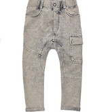 Minikid GREY PANTS WITH SIDE POCKET | COOL JOGGER WITH WASHING | CHILDREN'S CLOTHING
