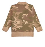 Minikid COOL BOMBER JACKET FOR CHILDREN | LONG BOMBER WITH CAMO PRINT | MINIKID