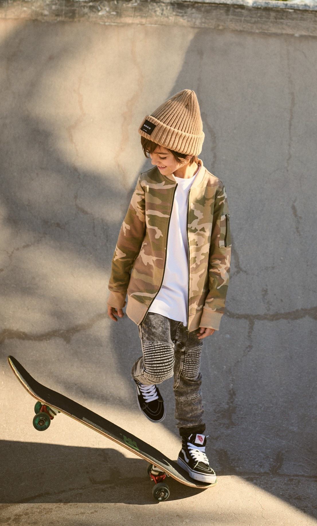 Minikid GREY JEANS   COOL JOGGER WITH WASHING   CHILDREN'S CLOTHING ONLINE