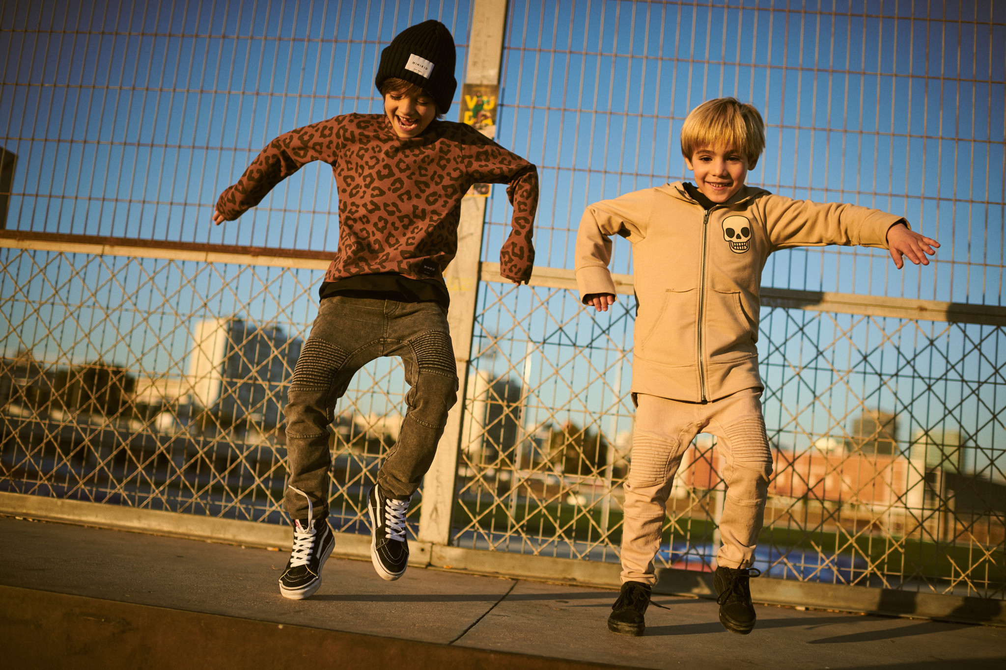 Minikid COOL LONGSLEEVE | LEOPARD SHIRT WITH LONG SLEEVES | MINIKID