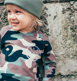 Kiddow CAMOUFLAGE LONGSLEEVE   COOL SHIRT FOR CHILDREN WITH LONG SLEEVES   STREETWEAR