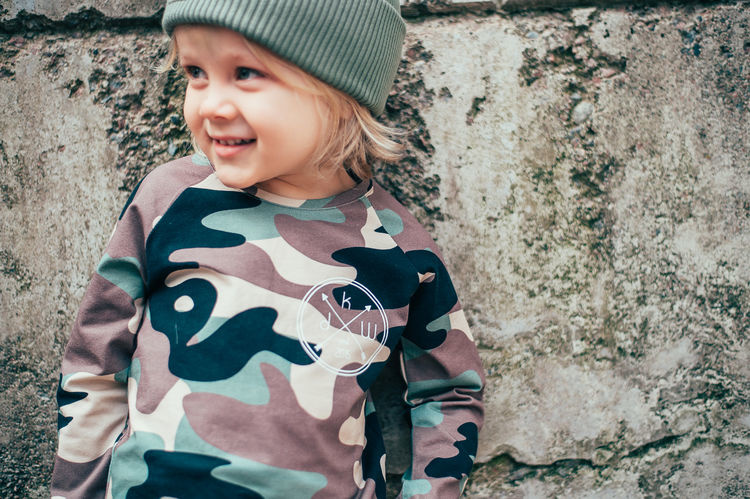Kiddow CAMOUFLAGE LONGSLEEVE | COOL SHIRT FOR CHILDREN WITH LONG SLEEVES | STREETWEAR