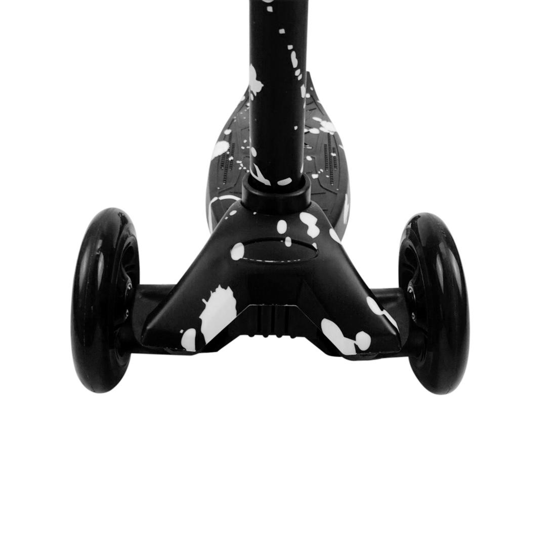 VanPauline  CHILDREN'S SCOOTER BLACK | BLACK STEP FOR KIDS | TOYS